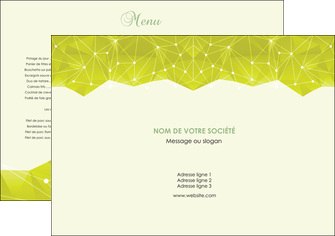 creer modele en ligne set de table graphisme vert fond vert colore MLIGBE60034