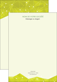imprimer affiche graphisme vert fond vert colore MIF60036