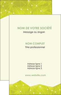 Commander Faire une carte de visite Graphisme papier publicitaire et imprimerie Carte de visite - Portrait