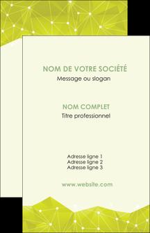 imprimerie carte de visite graphisme vert fond vert colore MLIGBE60044