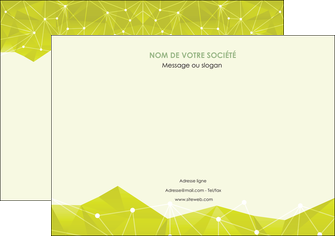 realiser affiche graphisme vert fond vert colore MLIGBE60054