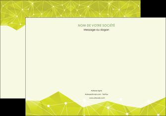 faire affiche graphisme vert fond vert colore MIF60056