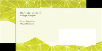 imprimerie enveloppe graphisme vert fond vert colore MIF60072