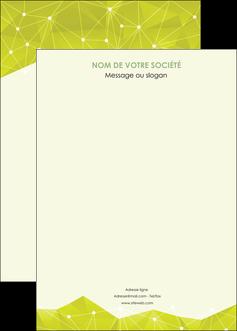 imprimer affiche graphisme vert fond vert colore MIF60078
