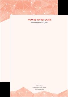 personnaliser modele de affiche saumon fond saumon pastel tendre MLGI60466