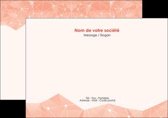 modele en ligne flyers saumon fond saumon pastel tendre MLGI60482