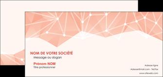 creation graphique en ligne carte de correspondance saumon fond saumon pastel tendre MLGI60496