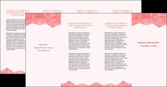 creation graphique en ligne depliant 4 volets  8 pages  saumon fond saumon pastel tendre MLGI60506