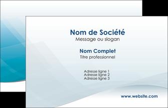 imprimerie carte de visite bleu bleu pastel fond au bleu pastel MLGI60510