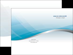 faire pochette a rabat bleu bleu pastel fond au bleu pastel MIDCH60522