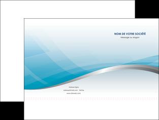 modele pochette a rabat bleu bleu pastel fond au bleu pastel MLGI60524