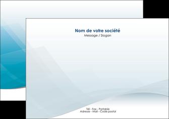 modele flyers bleu bleu pastel fond au bleu pastel MLGI60534