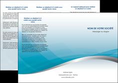 personnaliser modele de depliant 3 volets  6 pages  bleu bleu pastel fond au bleu pastel MLGI60536