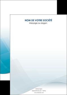 imprimer flyers bleu bleu pastel fond au bleu pastel MLGI60556