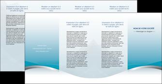 personnaliser maquette depliant 4 volets  8 pages  bleu bleu pastel fond au bleu pastel MLGI60558