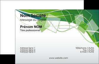 Commander model de carte de visite avec pelliculage  papier publicitaire et imprimerie Carte de Visite - Paysage