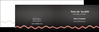 personnaliser maquette carte de visite web design gris gris fonce mat MIF60892
