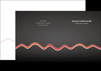 personnaliser modele de pochette a rabat web design gris gris fonce mat MIF60898