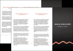 Impression Dépliants Web Design papier à prix discount et format Dépliant 6 pages pli accordéon DL - Portrait (10x21cm lorsque fermé)