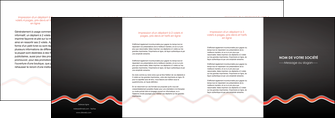 impression depliant 4 volets  8 pages  web design gris gris fonce mat MLGI60926