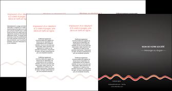 imprimer depliant 4 volets  8 pages  web design gris gris fonce mat MLGI60930
