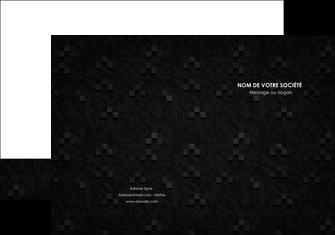 cree pochette a rabat gris fond gris fonce MLIG61416
