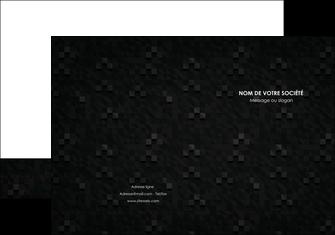 exemple pochette a rabat gris fond gris fonce MIF61418
