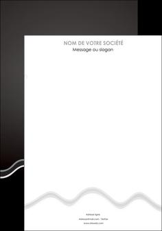 imprimerie affiche gris fond gris courbes MLIG61458
