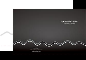 creer modele en ligne pochette a rabat gris fond gris courbes MLIG61468