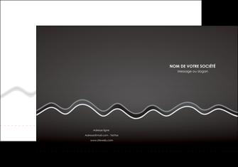 creation graphique en ligne pochette a rabat gris fond gris courbes MLIG61470