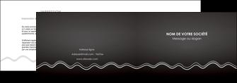 creer modele en ligne depliant 2 volets  4 pages  gris fond gris courbes MLIG61472