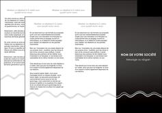 maquette en ligne a personnaliser depliant 3 volets  6 pages  gris fond gris courbes MLIG61482