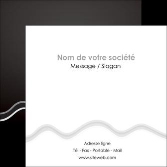 faire modele a imprimer flyers gris fond gris courbes MLIG61490