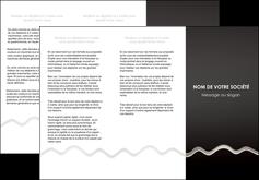 impression depliant 3 volets  6 pages  gris fond gris arriere plan MIF61858