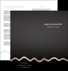 modele en ligne depliant 2 volets  4 pages  gris fond gris arriere plan MIF61860