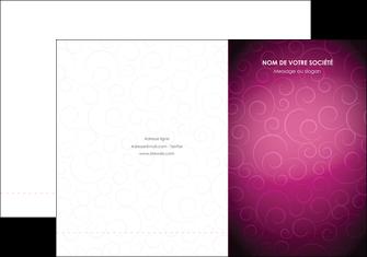 creer modele en ligne pochette a rabat fushia rose courbes MLGI61898
