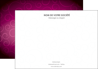 impression affiche fushia rose courbes MIF61902