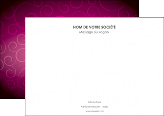 cree affiche fushia rose courbes MLIG61904