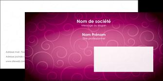 creation graphique en ligne enveloppe fushia rose courbes MIF61922