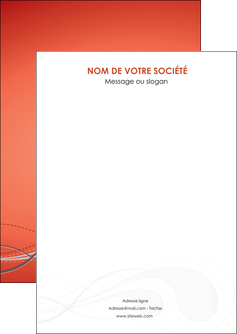 creer modele en ligne flyers rouge couleur rouge orange MIF62000