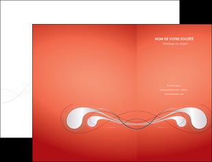 cree pochette a rabat rouge couleur rouge orange MIF62008