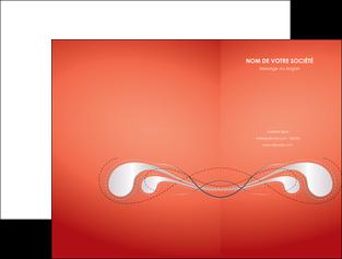 exemple pochette a rabat rouge couleur rouge orange MIF62010