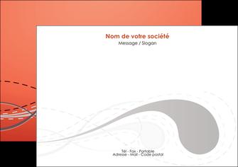 faire modele a imprimer flyers rouge couleur rouge orange MIF62020