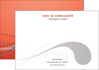 exemple flyers rouge couleur rouge orange MIF62024