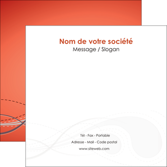 creation graphique en ligne flyers rouge couleur rouge orange MIF62028