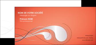 cree carte de correspondance rouge couleur rouge orange MIF62034