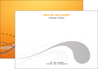 imprimerie flyers orange abstrait abstraction MIS62072