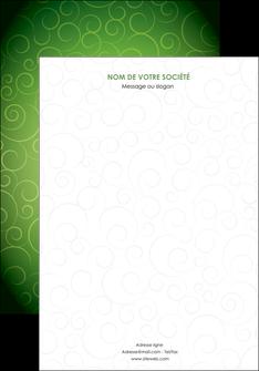 personnaliser modele de affiche vert vignette fonce MIF62164