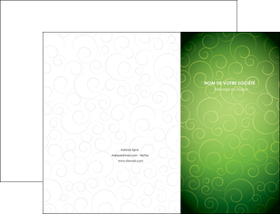 cree pochette a rabat vert vignette fonce MIF62170