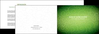 cree depliant 2 volets  4 pages  vert vignette fonce MIF62176